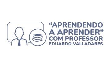 Imagem curso de Aprendendo a Aprender com Prof. Eduardo Valladares