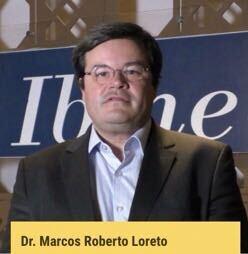 Foto do professor Marcos Loreto